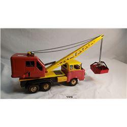 Vintage Tin Crane Truck