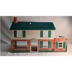 Tin Toy Dollhouse