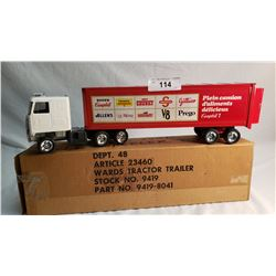 ERTL Campbell Soup Tractor Trailer In Box
