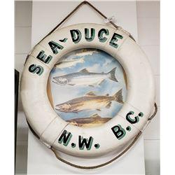 Vintage Sea-Duce  N.W. B.C. Life Preserver