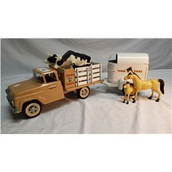 Tonka Farm Truck And Trailer
