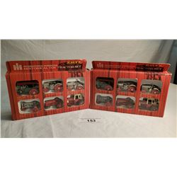 2 ERTL 6 In Box, 6 Packs Of Historical Tractor Set 9""