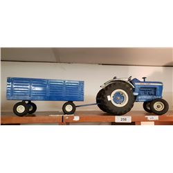 Ford 8000 Tractor And Trailer Diecast