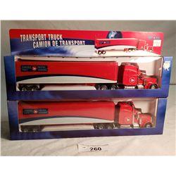 2 Diecast Canada Post Trucks