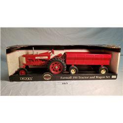 ERTL Tractor And Wagon Set