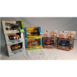 5 ERTL Diecast Toys, 2 Mighty Wheels toy