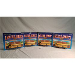 4 Road Champs Diecast Buses