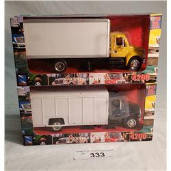 2 New Ray Diecast Trucks