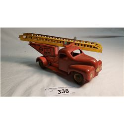 Tin And Plastic Fire Truck