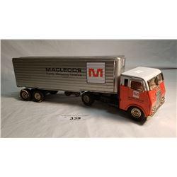 Tin MacLeods Tractor Trailer