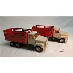 2 ERTL Farm Trucks