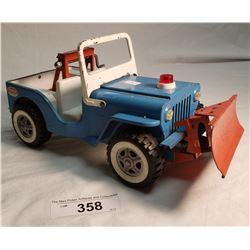Tonka Jeep With Snow Plow