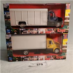 2 New Ray Toy's Diecast Truck