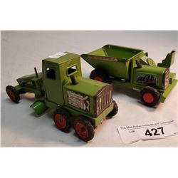 Linmar Tin Dump Truck Friction And Linmar Tin Grader Friction