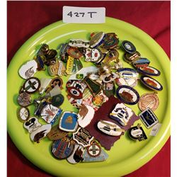 Tray Lot Of Assorted Curling Pins