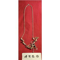 Sterling Chain And Pendant