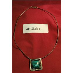 Sterling Necklace And Pendant
