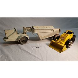 """Lumar Earth Mover (Missing Stack 17"""") And Tonka Loader (11"""")"""