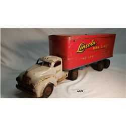 Lincoln Toy, Moving Truck