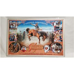 2005 Framed Calgary Stampeed Poster