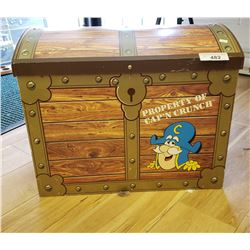 Wooden Captin Crunch Toy Trunk