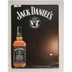 Tin Jack Daniels Advertising Chalk Board