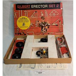 Erector Set In Original Box