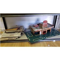 Shelf Lot Of Max Service Station And Misc. Epherma