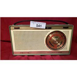 Phillips All Transistor Radio