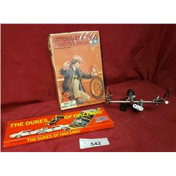 Dukes Of Hazard Watch, Model Kit and Tie Flying Stand