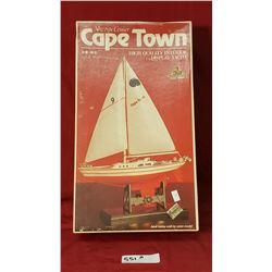 Cape Town Sail Boat Model