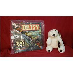 Daisy Gun Book And Coke Bear
