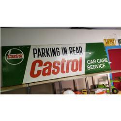 Castrol Vintage Sign