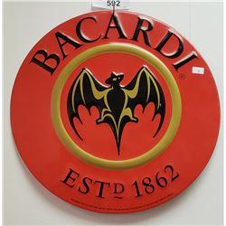 Tin Bacardi Sign