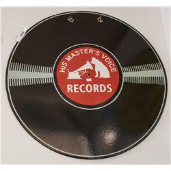 Columbia Records RCA Porcelain Sign