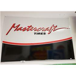 Mastercraft Tire Sign