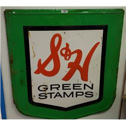 S+H Green Stamps Sign
