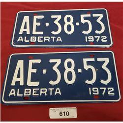 Nos Alberta License Plate