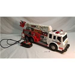 RC Fire Truck Toy Big Large Remote Control Siren