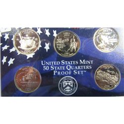 2002 SAN FRANSISCO USA STATE QUARTER PROOF SET