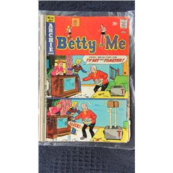 BETTY & ME COMIC - CHOICE