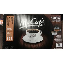 MCCAFE MEDIUM/DARK ROAST FINE GRIND COFFEE - PER BOX