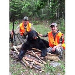 Ontario black bear hunt for 2 Hunters