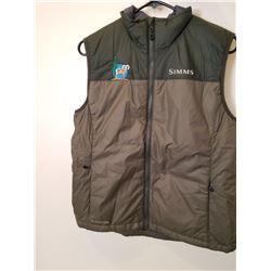 Simms Mid-Stream Insulated Vest Loden w/ ADBSS Logo