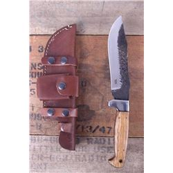 Montana Territory Knives Hammered Bowie Knife