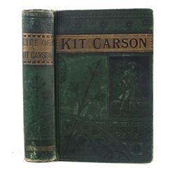 Life of Kit Carson by Charles Burdett c. 1869