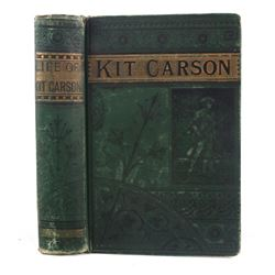 Life of Kit Carson by Charles Burdett c. 1869