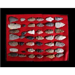 Collection of Prehistoric Spear Points & Artifacts