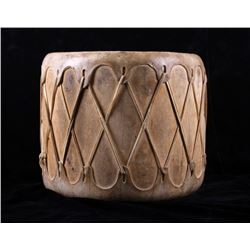 Plains Indian Rawhide Stretch Drum