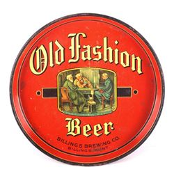 Billings Brewing Old Fashion Beer Tray Montana
